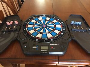Dartboard With Electronic Counter