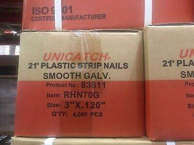 3 X .120 Smooth Galv 21 Framing Nails 4000case Hitachidewaltsenco