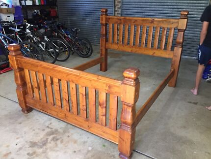Solid Timber Queen Bed