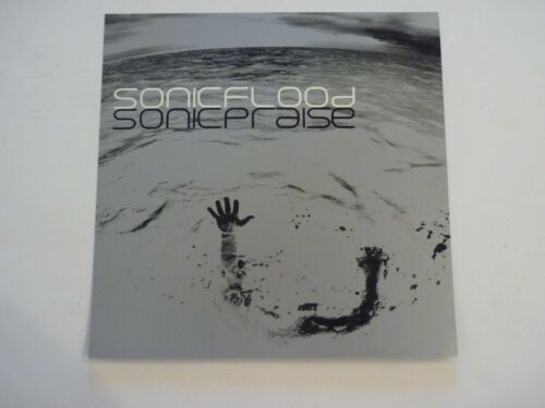 Sonic Flood Sonic Praise Cardboard LP Record Photo Flat 12X12 Poster