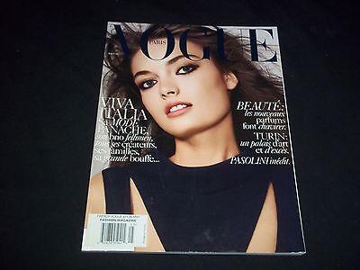 2006 MAY VOGUE PARIS MAGAZINE IN FRENCH - ANNA MARIA URAJEVSKAYA - D 1398