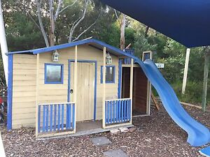Cubby House with Garage & Slide Yarrambat Nillumbik Area Preview