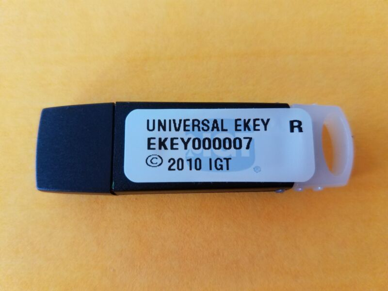 IGT configuration USB Key 7. NEW  Universal EKEY ekey000007 NEVER USED