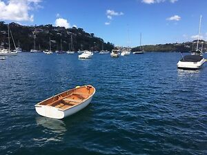 CLASSIC WOODEN TIMBER ROWING DINGHY TENDER Manly Manly Area Preview