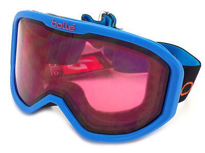 3fd3649b75 BOLLE Childrens Kids 3-8yrs INUK Ski Snow Goggles Matte Blue   Vermillon  21765