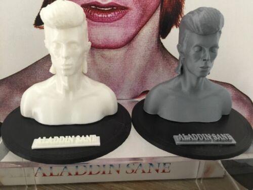David bowie aladdin sane limited edition 3d model bust  superb