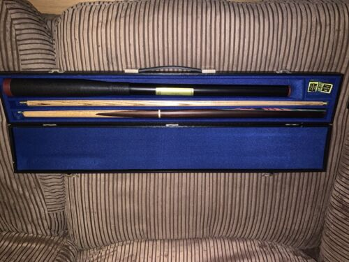 Master Billiards Snooker Cue With Extenstion And Case