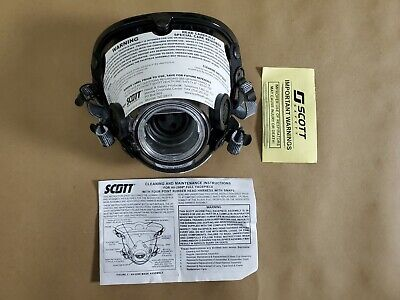 Scott Av-2000 Facepiece Firefighter Scba Mask Size Large