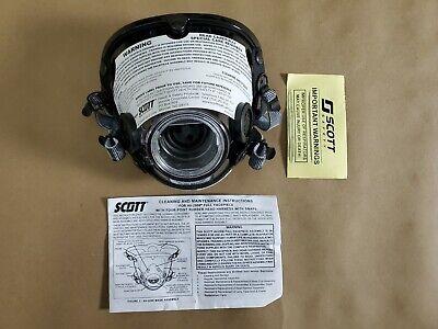 Scott Av-2000 Facepiece Firefighter Scba Mask Size Large