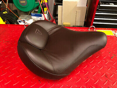 CUSTOM COMFORT SEAT FOR TRIUMPH SPEEDMASTER 1200 IN BROWN LEATHER 201