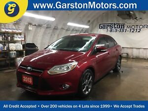2013 Ford Focus SE*LEATHER*HEATED FRONT SEATS*POWER DRIVER SEAT*