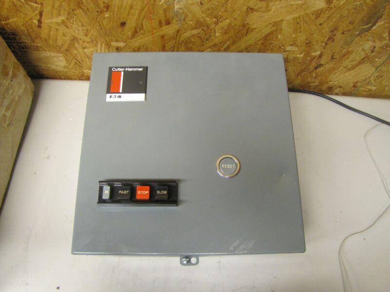 CUTLER-HAMMER MULTISPEED STARTER A700BG022 SIZE 0 A3 3 PH 18 A AMP 120 V NEW