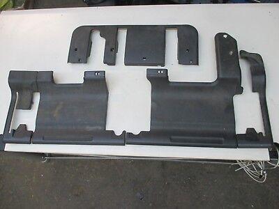 Mercedes ML W163 Sitzbank Verkleidungen Abdeckung