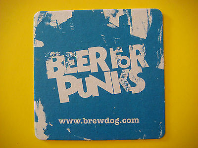 Fun Beer Coaster     Brewdog Brewery   Ellon  Aberdeenshire  Scotland Since 2007