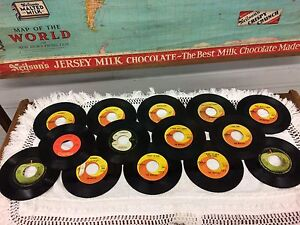 45rpm records x 14. The Beatles.