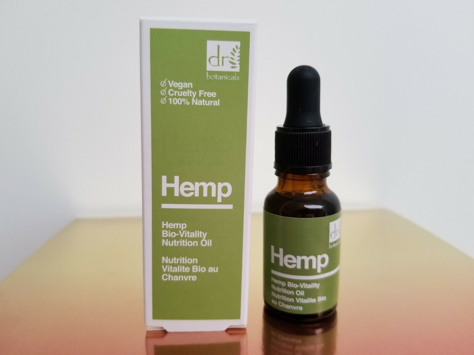 Dr Botanicals Hemp Bio-Vitality Nutrition Oil
