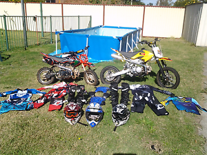 Pit bikes 125cc and 90cc plus gear .Price is for everything Eden Hill Bassendean Area Preview