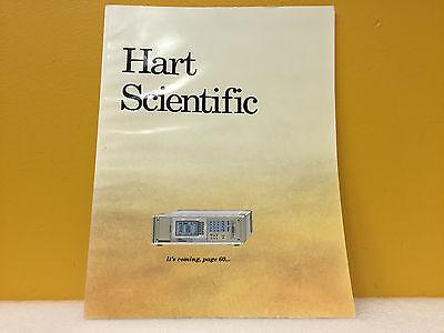 Hart Scientific Calibration Equipment Catalog