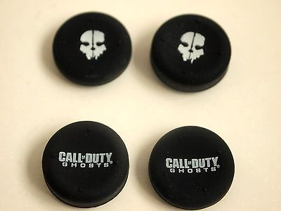 Call of Duty Ghosts Thumb Grips x 4 Xbox Playstation PS3 PS4...