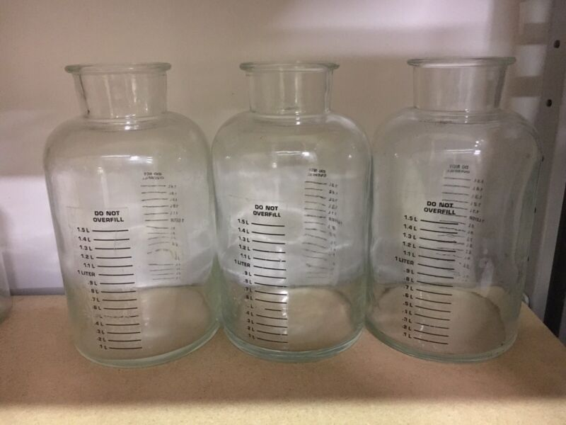 Gomco Glass Bottles (3)