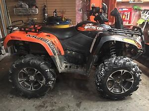 C&C cycles parting out 2009 arctic cat 700