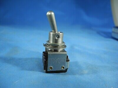 Micro Switchhoneywell Toggle Switch 3pdt On-none-on 6at10 Nos Free Fast Ship