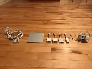 Apple Adapters + TrackPad + MagSafe Power bundle