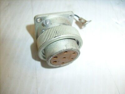 Hewlett-packard Noise Figure Meter 342a Hp - Front Cannon 7 Pin Connector