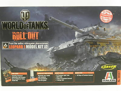 Italeri 36507 Modellbausatz World of Tanks Leopard 1 M. 1:35