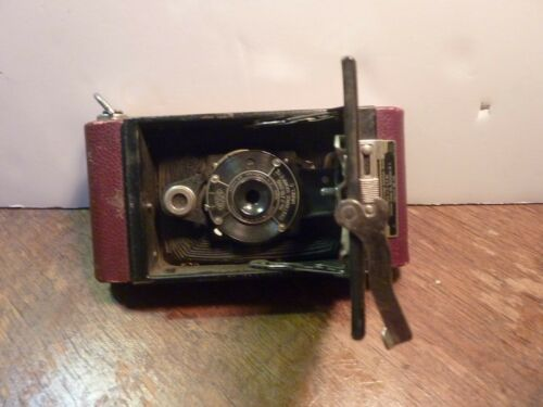 Vintage Kodo No. 2 Folding Camera Cartridge Hawkeye Model C Kodak Art Deco Rare