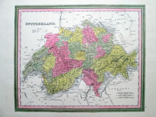 1846 SWITZERLAND * MITCHELL/TANNER Excellent ORIGINAL