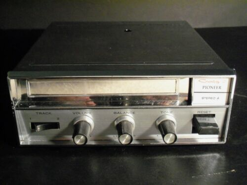 Vintage 1966 Craig Pioneer 4 track Tape Player Under Dash Car Stereo 3105C