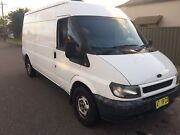 Ford transit 2002 LWB . Turbo diesel 3 seater ..  Young Young Area Preview