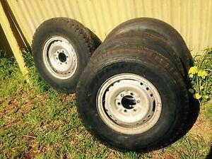 Tyres, split rims. Christies Beach Morphett Vale Area Preview