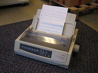 OKI Microline ML 3320 9-Pin Mono A4 Dot Matrix Impact Printer Parallel + USB