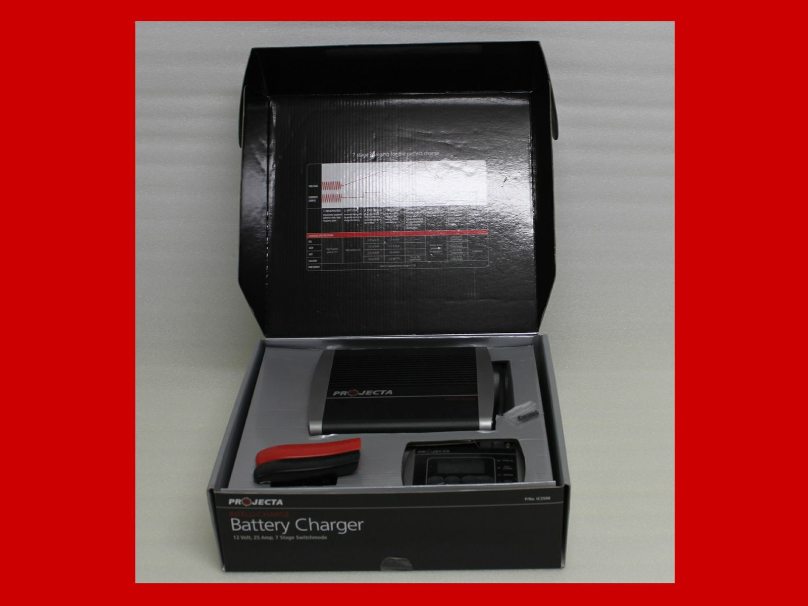 projecta ic2500 battery charger manual
