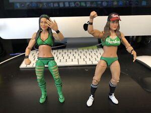 WWE Mattel Bella Twins Figures