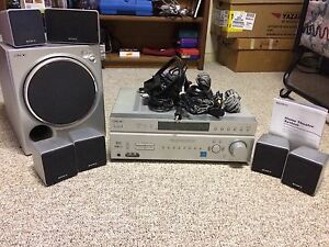 SONY - Surround Sound 6.1 with Amplifier