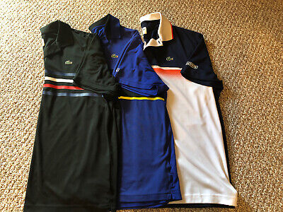 Lacoste Short Sleeved Polo Shirts Men's Size 2XLB