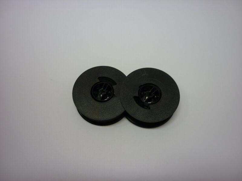 Underwood 19 21 250 310 315 319 Typewriter Ribbon Black Twin Spool Made in USA