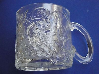"McDonalds ""The Riddler"" Batman Forever 1995 Glass Cup Mug EUC"