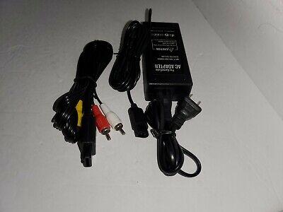 Nuevo AC Adaptador Fuente de Alimentación & Estéreo Av Audio Vídeo Cable...