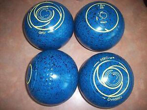 Aero DYNAMIC Lawn Bowls Size 3.5H WB22 Golf Ball Dimple Grip Surfers Paradise Gold Coast City Preview