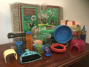 All the accessories for hamster or other small pet