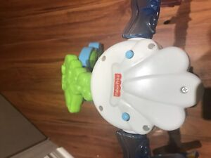 Vtech sit to stand and fisher price baby toy