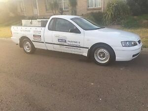 2005 ford ba 6cyl ute LPG auto 3 seater runs great unreg Ashtonfield Maitland Area Preview