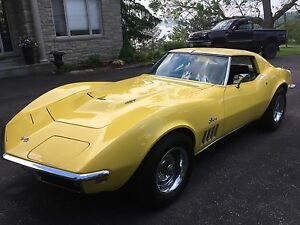 1969 Corvette coupe