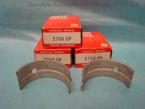 1959-80 Ford 997cc 1198cc 1298cc 1340cc 1498cc Main Bearing Set STD (3 bearings)