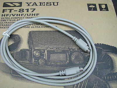 Yaesu Auto Tuner Cable FC-20 FC-30 LDG-YT-100, FT-857 FT-817 FT-847 FT-897 ~5 ft for sale  Raleigh