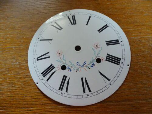 Dial Clock Comtoise Clock Enamelled Franc Comtois